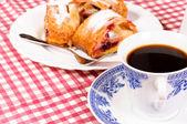 сладкий завтрак — Стоковое фото