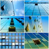 Windows kolaj — Stok fotoğraf