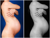 Female pregnancy — Stock Photo