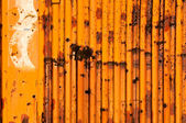 Rusty and holes — Stock Photo