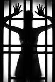 Female silhouette — Stock Photo