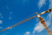 Crane and sky — Stock Photo