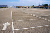 Empty parking — Stock Photo