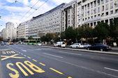 Belgrado straten — Stockfoto
