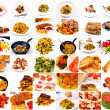 Royalty-Free Stock Photo: Food collage
