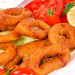 Stock Photo: Calamari rings