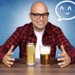 Beer lover — Stock Photo #13647017