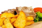 Spice potato — Stock Photo
