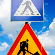 Royalty-Free Stock Photo: Road signs