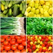 Stock Photo: Plenty of vegetables