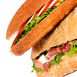 Tasty sandwiches - Stock Photo