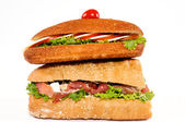 Sandwich tower — Stock Photo