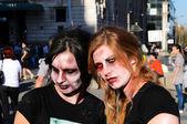 Zombie in Belgrade — Stock Photo