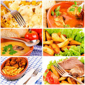 International food — Stock Photo