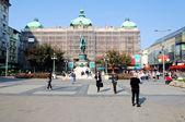 Belgrade square — Stock Photo
