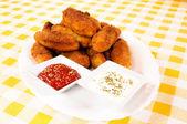 Nezdravé potraviny — Stock fotografie