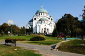 Cathedral of Saint Sava — Stok fotoğraf