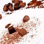Belgian sweets — Stock Photo