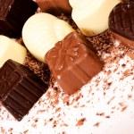 Crushed chocolate — Stock Photo