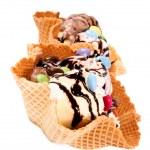 Ice cream isolated — Stock Photo