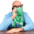 Stock Photo: Angry terrorist