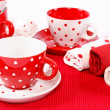 Stock Photo: Cups decoration