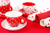 Cups decoration — Stock Photo