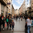 Belgrade main street — Stock Photo