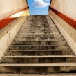 Stock Photo: Salvation stairs
