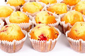 Fruity muffins — Stock Photo