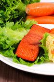Salmon time — Stock Photo