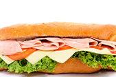 Saboroso sanduíche — Foto Stock