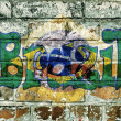 Brazil on bricks — Stockfoto