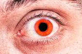 Scary eye — Stock Photo