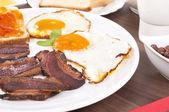 Eggs and bacon — Foto de Stock