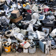 Stock Photo: Electronic waste