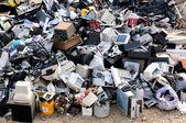 Elektroniskt avfall — Stockfoto