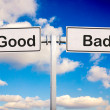 Good or bad — Stok Fotoğraf #16852643