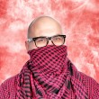 Royalty-Free Stock Photo: Man with scarf