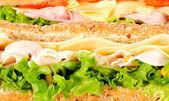 Fundo de sanduíche — Fotografia Stock