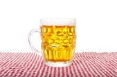 Bir bardak bira — Stok fotoğraf
