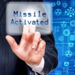 Stock Photo: Missile activated
