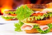 Sandwiches — Foto Stock