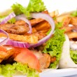 Tasty gyros — Stock Photo