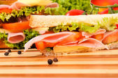 Sandwich time — Foto Stock