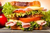 三明治时间 — 图库照片