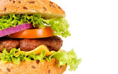 Yummy hamburger — Stockfoto