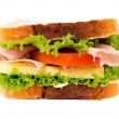 Small sandwich — Stock Photo #18303017