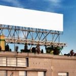 Blank billboard — Stock Photo #18487703