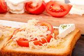 Cheese toast — Stock Photo
